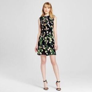 floral dress/ Victoria Beckham for Target /size XL